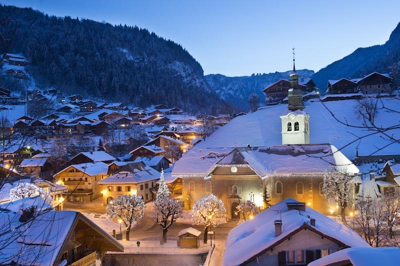 Morzine in Winter - Morzine Ski Apartments