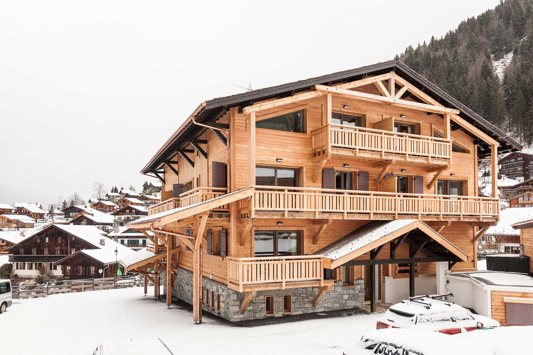 snowboard luxury apartment